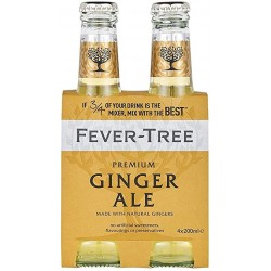 FEVER TREE GINGER ALE 6...