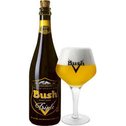 BUSH BLONDE TRIPLE 75CL 10.5%