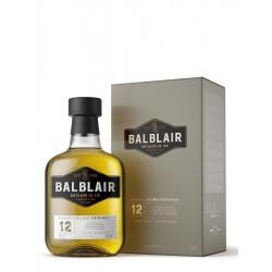 BALBLAIR 12 ANS WHISKY 70CL...